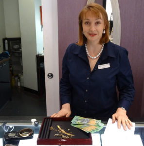 Ange at counter divorce your Jewellery Australia - sell gold, sell diamonds, sell premium jewellery for more