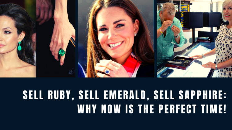 Sell ruby, sell emerald, sell sapphire Why now is the perfect time at Divorce your jewellery